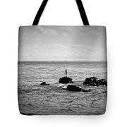 Fluid Solitude Tote Bag
