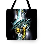 Fluidity Abstract Tote Bag