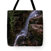 Flume Gorge Waterfall Tote Bag
