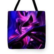Fluorescent Passions Abstract Tote Bag