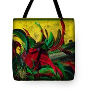 Flurry Of Feathers Tote Bag