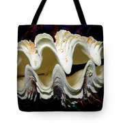 Fluted Giant Clam Shell Tote Bag