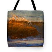 Flutter Of Amber Tote Bag