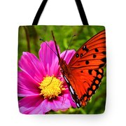 Fritillary Flutterby Tote Bag