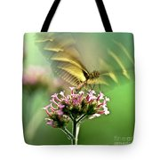 Fluttering Butterfly Tote Bag by Heiko Koehrer-Wagner