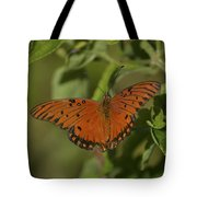 Fluttering By Tote Bag