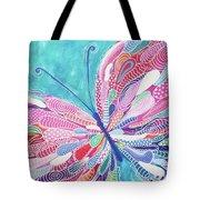 Fluttering Jewel Tote Bag