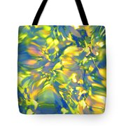 Fluttering Of Color Tote Bag