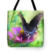 Fluttering Wings Of The Butterfly Tote Bag