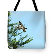 Fly Birds 329 Tote Bag