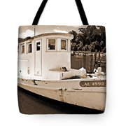 Fly Creek Work Boat Tote Bag