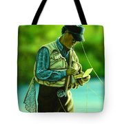 Fly Fisher II Tote Bag