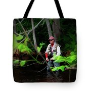 Fly Fisher Tote Bag