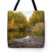 Fly Fishermans Paradise Tote Bag