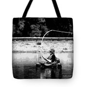 Fly Fishing Lesson Tote Bag