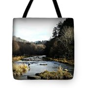 Fly Fishing  Tote Bag
