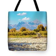 Fly Fishing Paradise Tote Bag
