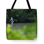 Fly Fishing Smithtown New York Tote Bag