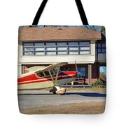 Fly In To The Beaumont Hotel And Cafe Tote Bag
