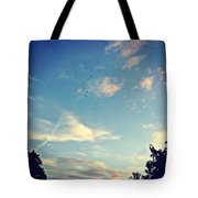 Fly Like A Bird To The Lord Tote Bag