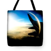 Fly Like A Dolphin Tote Bag