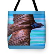 Fly Like An Eagle Tote Bag