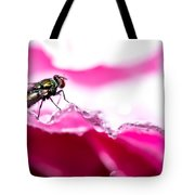 Fly Man's Floral Fantasy Tote Bag by T Brian Jones