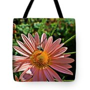 Fly On Flower Tote Bag