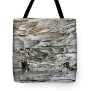 Fly On Wood Tote Bag
