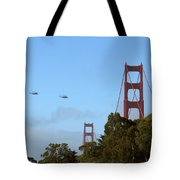 Fly Over Tote Bag