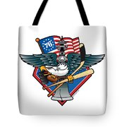 Fly. Philly, Fly, Crest Tote Bag