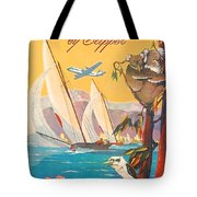 Fly To Australia And New Zealand, Airline Poster Tote Bag