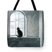Fly Watching Tote Bag