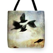 Fly With The Mood Tote Bag