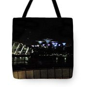 Flyer Night View Tote Bag