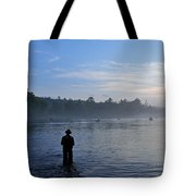 Flyfishing In Maine Tote Bag