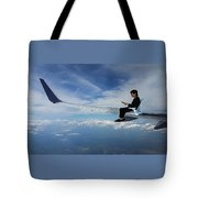 Flying 3rd Class Tote Bag