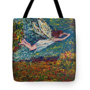 Flying Along With The Spirit Tote Bag