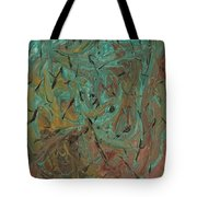 Flying Bats And Birds Tote Bag