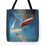 Flying Boats Tote Bag