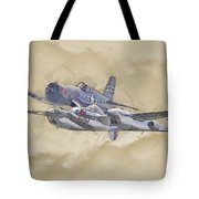 Flying Bulls Warbirds Tote Bag