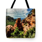 Flying Buttress 04-004 Tote Bag