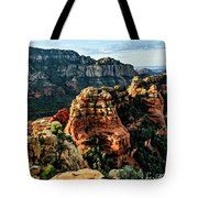 Flying Buttress 04-227 Tote Bag