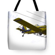 Flying By Wire 4 Of 6 Tote Bag