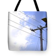 Flying By Wire 6 Of 6 Tote Bag