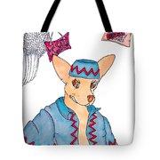 Flying Chihuahua's Tote Bag