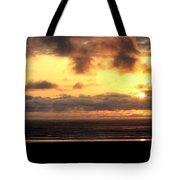 Flying Dog Sunset Tote Bag