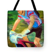Flying Down The Mtn Tote Bag