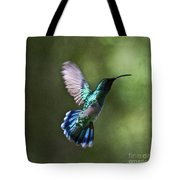 Flying Emerald Tote Bag