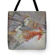 Flying Fairies. Monotype Tote Bag